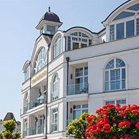 Ferienwohnung Rügen Strandschloss Binz